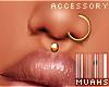 $ Medusa/Nose Ring V1