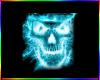 (R)Neon Skull T