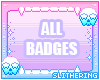 All badges!