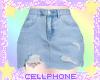 jean skirt (light) ❤