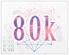 + 80k Support Sticker