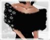 Black Shoulder Fur