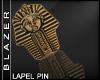 B| Spinx Head Lapel Pin