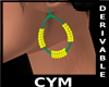 Cym Retro Earrings Derv5