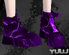 Couple Anim Purple Boots