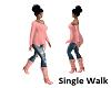 Single Walk Animated
