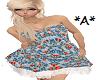 *A* Spring Dress Blue