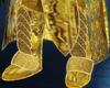anubis gold boots
