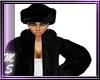 MS Black Fur Hat