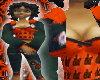 [LF] Orange CH Hoody
