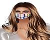 Rainbow Metallic Mask