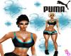 (DD) puma shorts blue