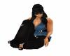 Animated sitting pose