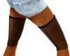 Fishnet 4 Mid Knee Boots