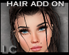 LC Add-on Strands Brown