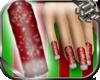 Christmas Snowfall Nails