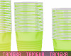 Green Party Cups