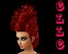 ~Elle~ Red Mohawk Hair