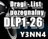 Dragi - List pozegnalny