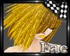 Golden Cascade Hair
