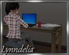 ~L~ College Dorm Desk