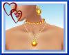 W| Sexy Gold Jewelry Set