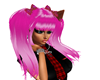 !K69! Kitty Tails Pink