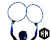 blue rave hoops