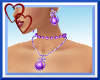 W| Sexy Purple Jewelry