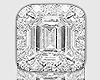 Baguette Ring L