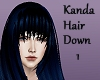 Kanda Hair Down 1/2