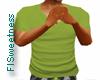 FLS T Shirt - Green