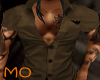 *MS*Brown Armani Shirt