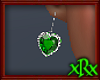 Diamond Heart Emerald ER