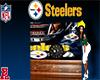 *RBE Steelers Wall Clock