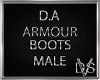 D.A Armour Boots (Male)