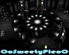 black white dance floor