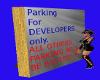 VC No parking sign DEVS