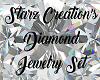 *S* Diamond Jewelry Set
