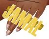 Jamal's custom ring