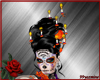 catrina candle headdres