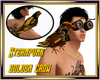 Steampunk Golden Crow