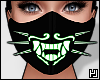 ₄ Green Neon Mask
