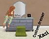 X} Lovely Custom Dresser