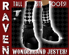 JESTER MONSTER BOOTS!