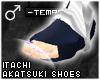 !T Itachi Akatsuki shoes