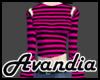 Av~Slit Top - Pink