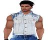 Stone Washed Jean Vest
