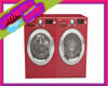 :SH: Red Washer Dryer