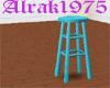 Turquoise Bar Stool